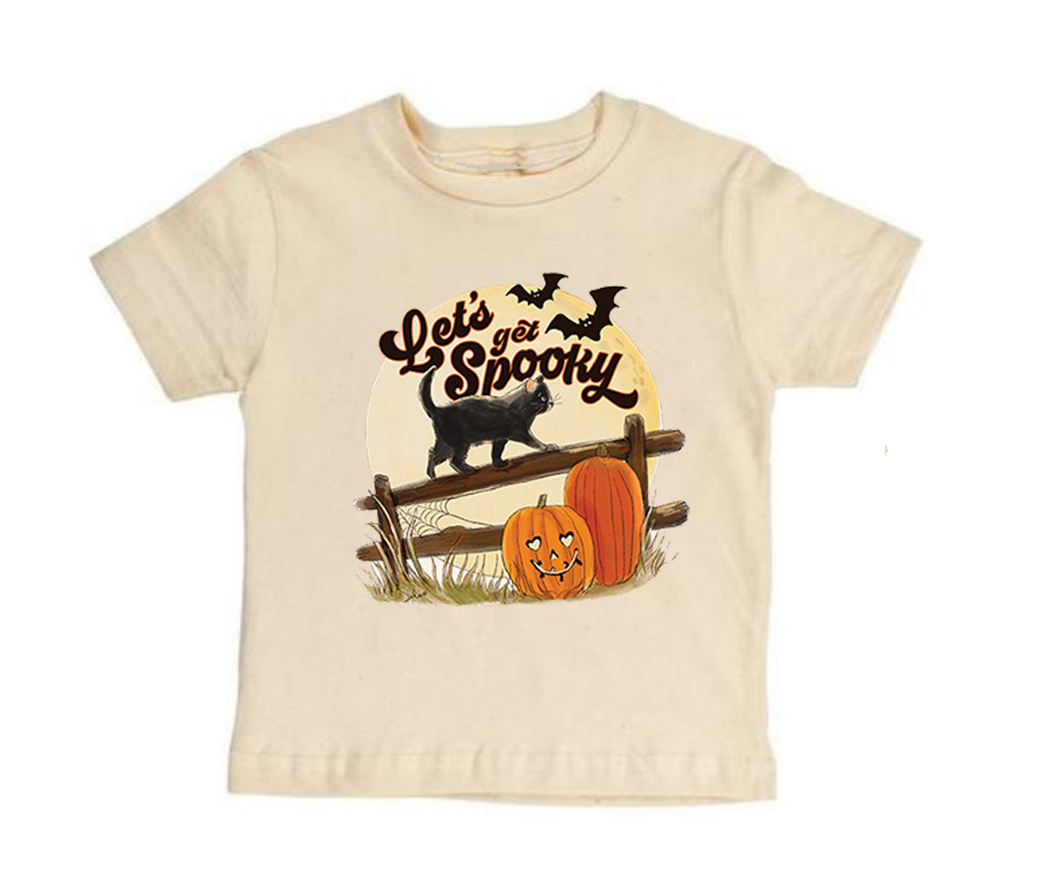 Let's get Spooky! - Short Sleeves [Toddler Tee]