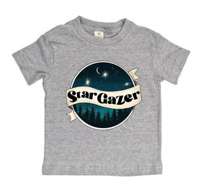 Star Gazer - Heather Gray - [TODDLER TEE]
