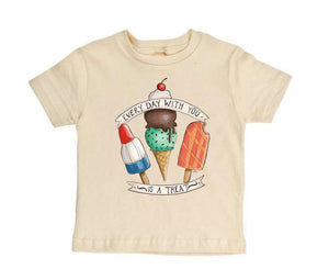 Every Day With You is a Treat [Toddler Tee]