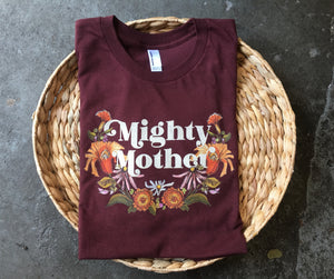 Mighty Mother - Truffle - Unisex Tee [READY TO SHIP]