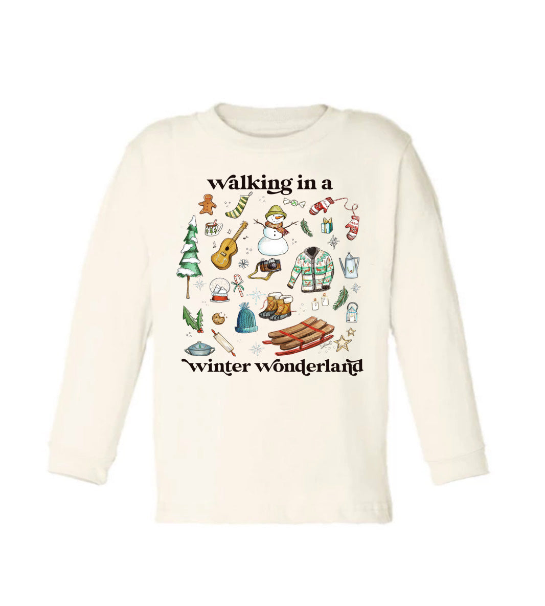 Winter Wonderland [Long Sleeved Toddler Tee]