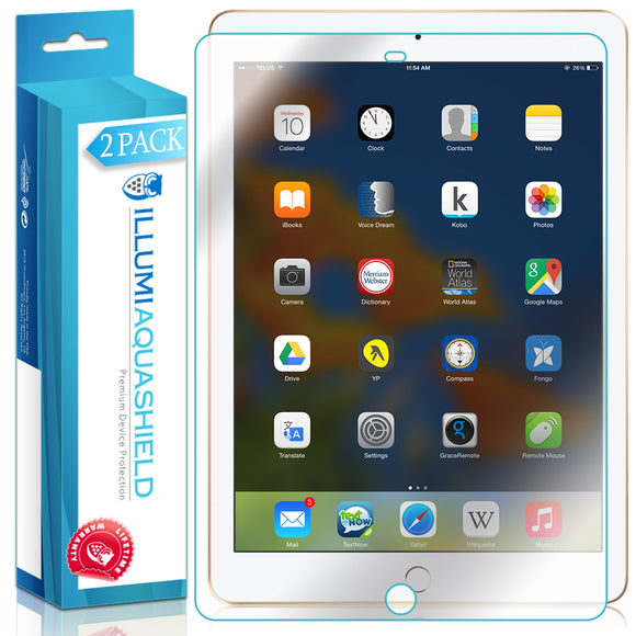 Apple iPad ILLUMI AquaShield Screen Protector [2-Pack]