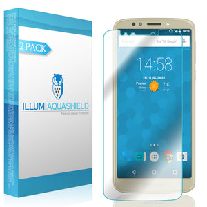 Motorola Moto E5 ILLUMI AquaShield Screen Protector [2-Pack]
