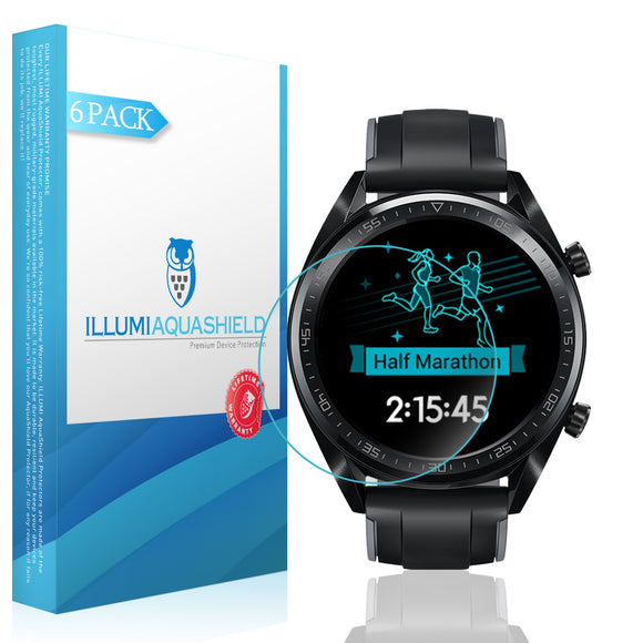 Huawei Watch GT ILLUMI AquaShield Screen Protector [2-Pack]