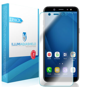 Galaxy A6 (2018) [2-Pack] ILLUMI AquaShield Screen Protector
