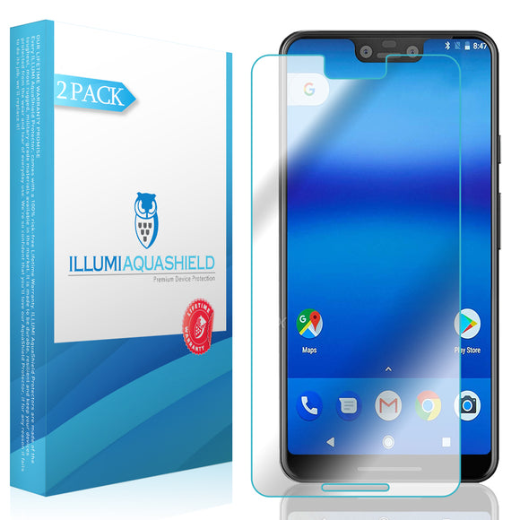 Google Pixel 3 XL ILLUMI AquaShield Clear Screen Protector