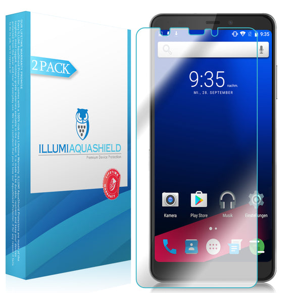 ZTE Blade Max 2s [2-Pack] ILLUMI AquaShield Screen Protector