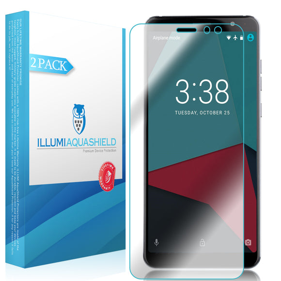ZTE Blade Max View [2-Pack] ILLUMI AquaShield Screen Protector