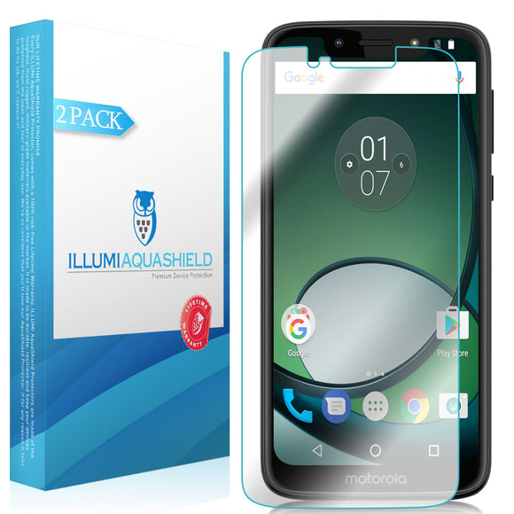 Motorola Moto G7 Play [2-Pack] ILLUMI AquaShield Screen Protector