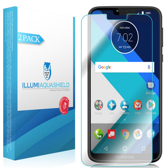 Motorola Moto G7 Power [2-Pack] ILLUMI AquaShield Screen Protector