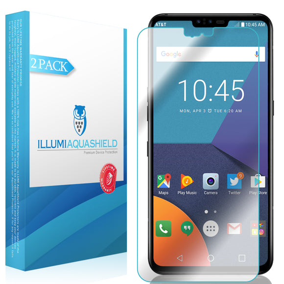 LG V50 ThinQ [2-Pack] ILLUMI AquaShield Screen Protector