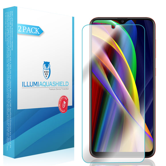 Samsung Galaxy A20 [SM-A205G-DS] [2-Pack] ILLUMI AquaShield Screen Protector