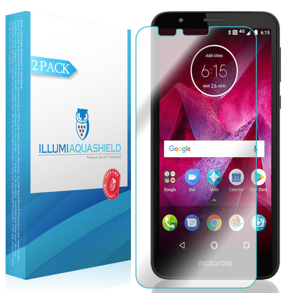 Motorola Moto E6 [2-Pack] ILLUMI AquaShield Screen Protector