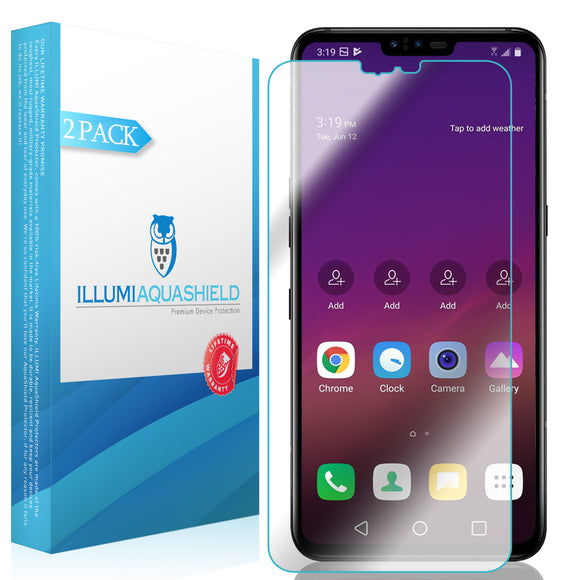 LG V50 ThinQ  iLLumi AquaShield screen protector