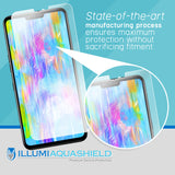 LG V50 ThinQ [2-Pack] ILLUMI AquaShield [Case Friendly] Screen Protector