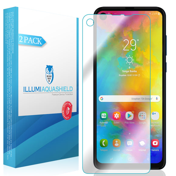 Motorola One Action [2-Pack] ILLUMI AquaShield Screen Protector