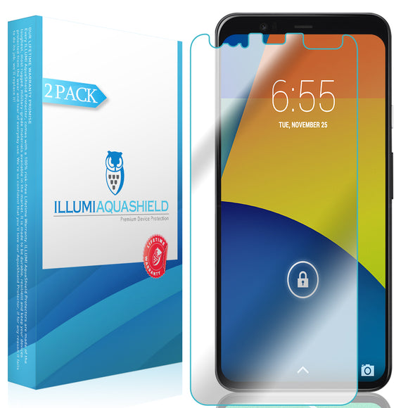 Google Pixel 4 XL [2-Pack] ILLUMI AquaShield [Compatible with Cases] Screen Protector