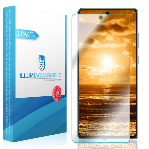 Samsung Galaxy Note 20 [6.7 inch] [2-Pack] ILLUMI AquaShield [Case Friendly] Screen Protector
