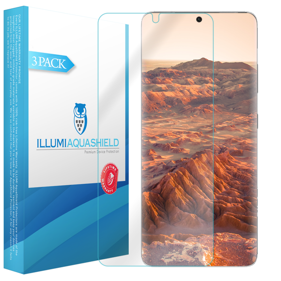 Samsung Galaxy S21 Ultra 6.9 inch iLLumi AquaShield screen protector