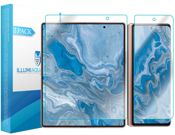 Samsung Galaxy Z Fold2 5G iLLumi AquaShield screen protector