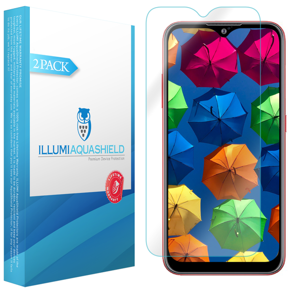 Samsung Galaxy A01 [2020] [2-Pack] ILLUMI AquaShield Screen Protector