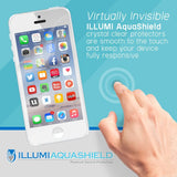 Samsung Galaxy S21 Ultra [6.8 inch] [2-Pack] ILLUMI AquaShield Front + Back Protector [Compatible with Fingerprint Scanner]