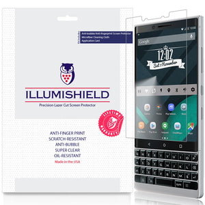 Blackberry KEY2 [3-Pack] iLLumiShield Clear Screen Protector (BBF100-2)