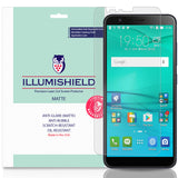 Asus ZenFone Max Plus (M1) ILLUMISHIELD Anti-Glare Matte Screen Protector [3-Pack]