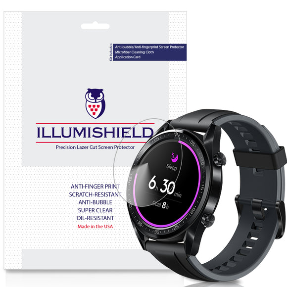 Huawei Watch GT iLLumiShield Clear Screen Protector [3-Pack]