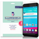 LG K30 [3-Pack] iLLumiShield Matte Anti-Glare Screen Protector
