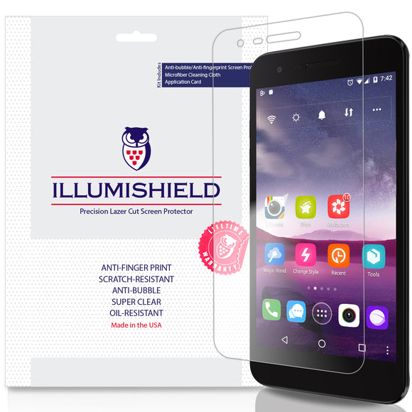 LG Zone 4 iLLumiShield Clear Screen Protector