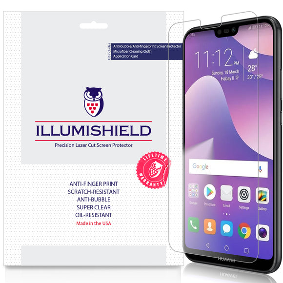 Huawei P20 Lite iLLumiShield Clear Screen Protector