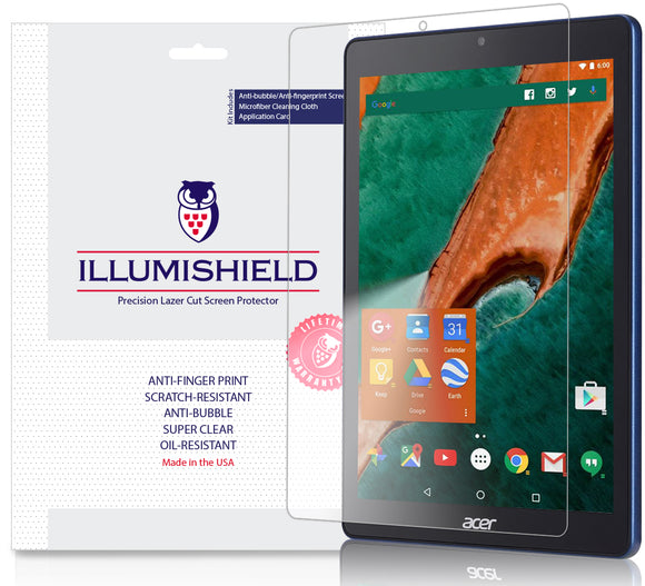 Acer Chromebook Tab 10 iLLumiShield Clear Screen Protector [2-Pack]