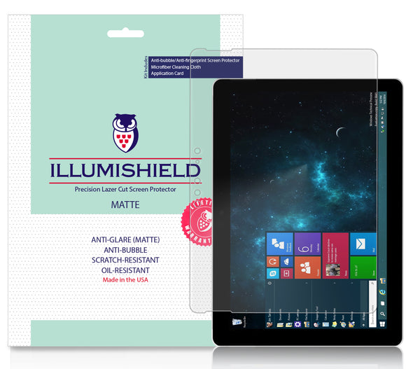 Microsoft Surface Go iLLumiShield Matte Anti-Glare Screen Protector [2-Pack]
