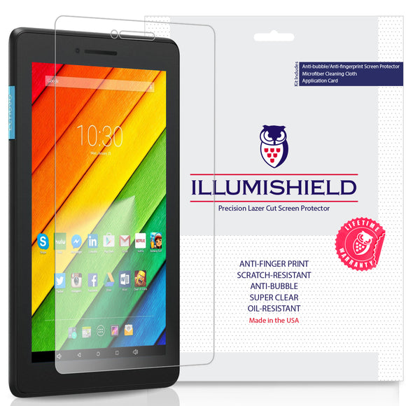 Lenovo Tab E7 iLLumiShield Clear Screen Protector