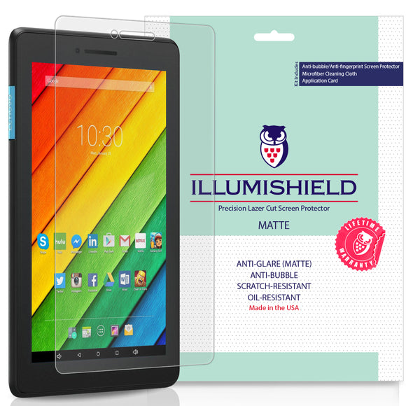 Lenovo Tab E7 iLLumiShield Anti-Glare Screen Protector