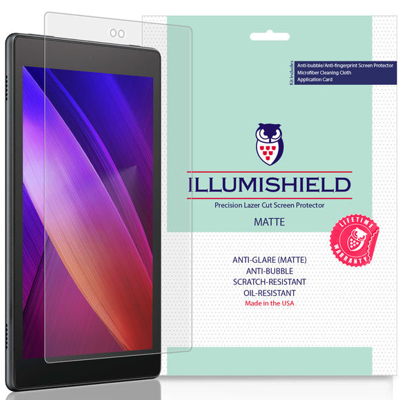 Amazon Fire HD 8 (2018, 8th Generation) iLLumiShield Matte Anti-Glare Screen Protector [2-Pack]