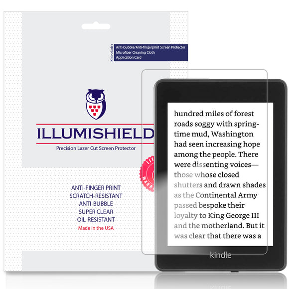 Amazon Kindle Paperwhite iLLumiShield Clear Screen Protector