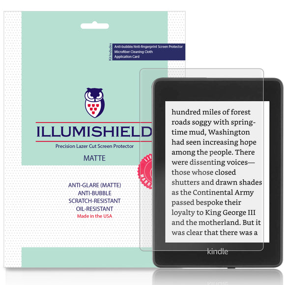 Amazon Kindle Paperwhite iLLumiShield Anti-Glare Screen Protector