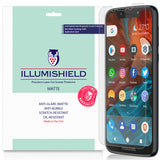 Motorola Moto G7 Play [3-Pack] iLLumiShield Matte Anti-Glare Screen Protector