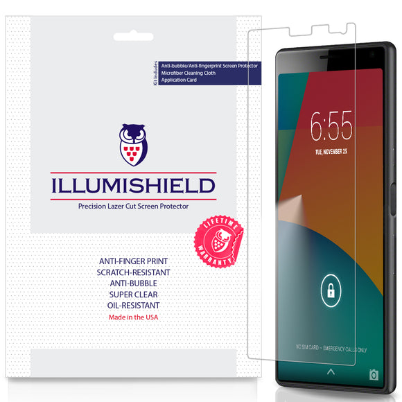 Sony Xperia 10  iLLumiShield Clear screen protector