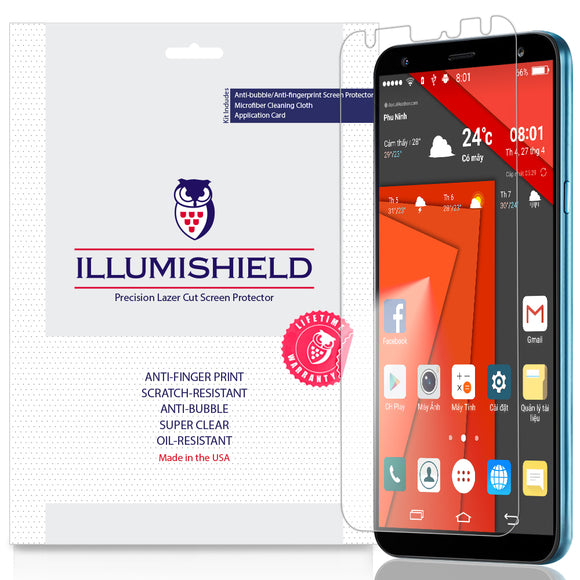 LG K40 2019 iLLumiShield Clear screen protector