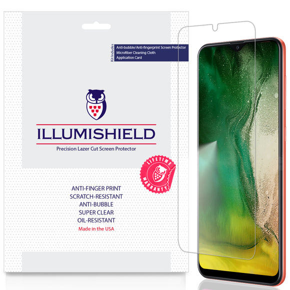 Samsung Galaxy A20 [SM-A205G-DS] [3-Pack] iLLumiShield Clear Screen Protector