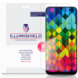 Samsung Galaxy A50 [3-Pack] iLLumiShield Clear Screen Protector
