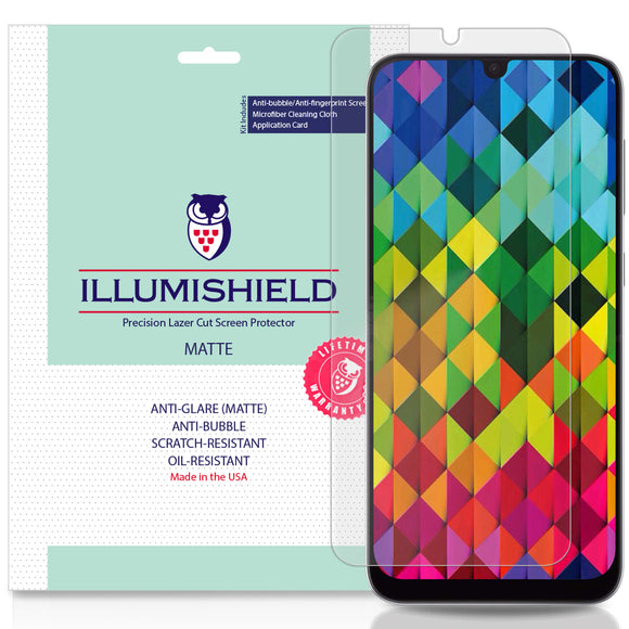 Samsung Galaxy A50  iLLumiShield Matte screen protector
