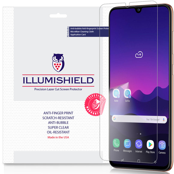 Samsung Galaxy A70 SM-A705 iLLumiShield Clear screen protector