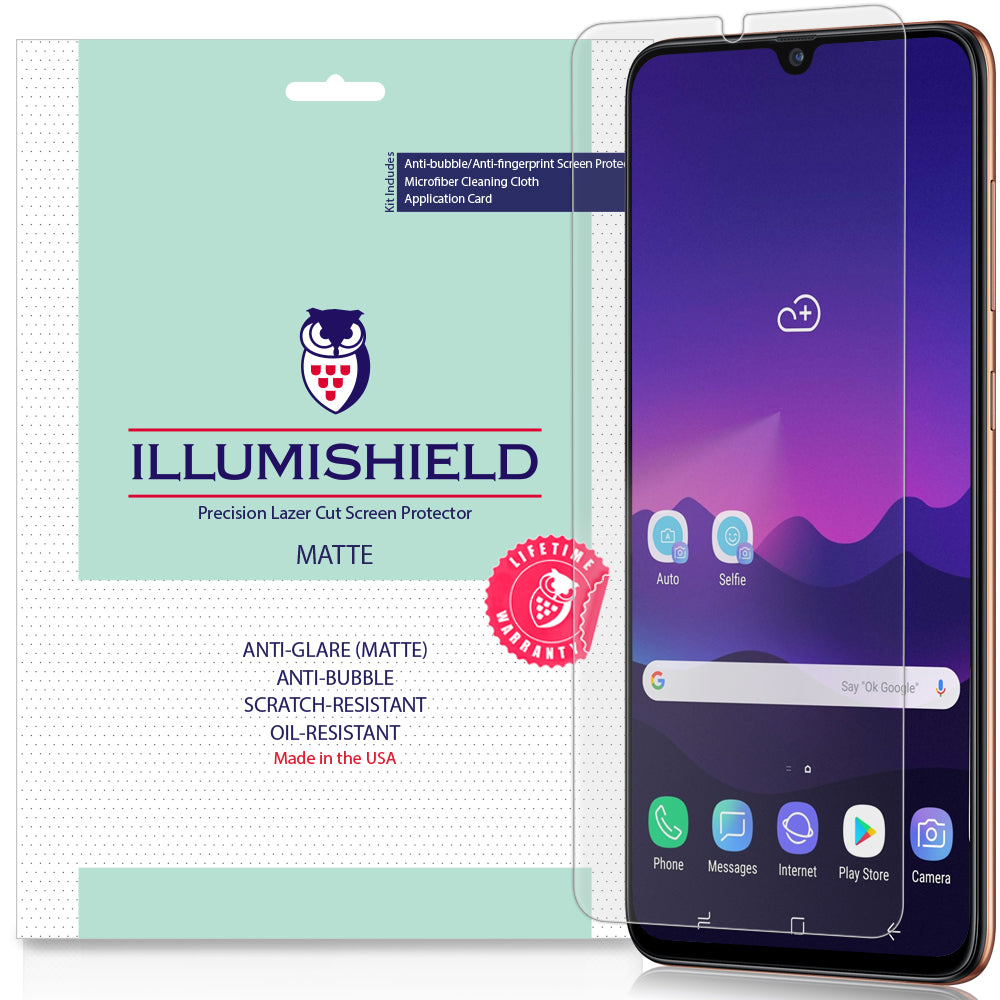 MDHT HUI AYSMG 25 PCS for Galaxy A70 Fingerprint Proof Full Screen Tempered Glass Film