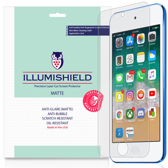 Apple iPod Touch 7th Gen, 2019 iLLumiShield Matte screen protector