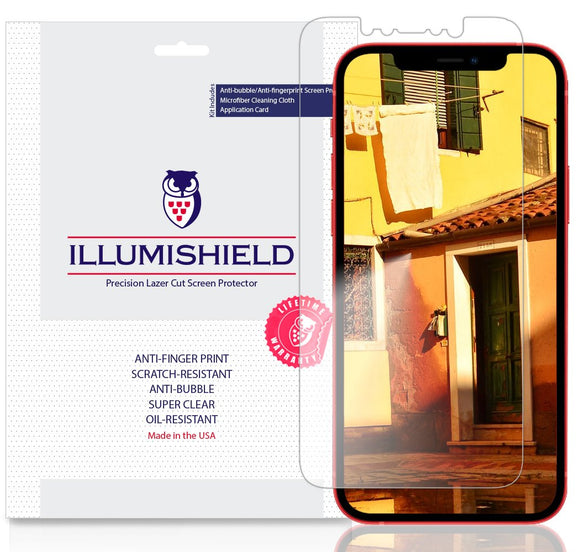 Apple iPhone 12 6.1 inch iLLumiShield Clear screen protector