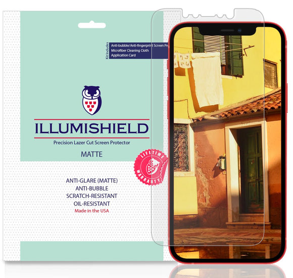 Apple iPhone 12 6.1 inch iLLumiShield Matte screen protector